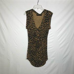Zara long sleeveless shirt
